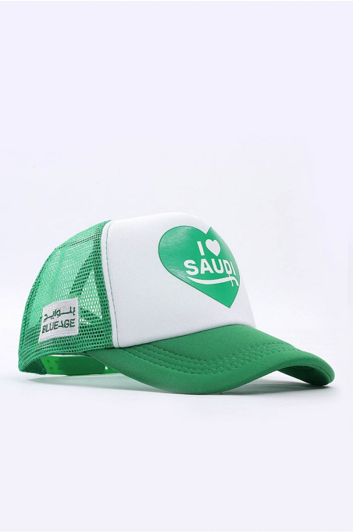 National Day cap with wording print