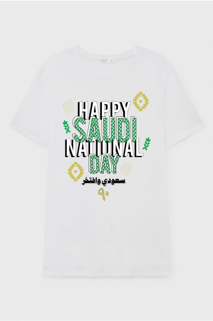 T-SHIRT WITH FRONT PRINT FOR MEN