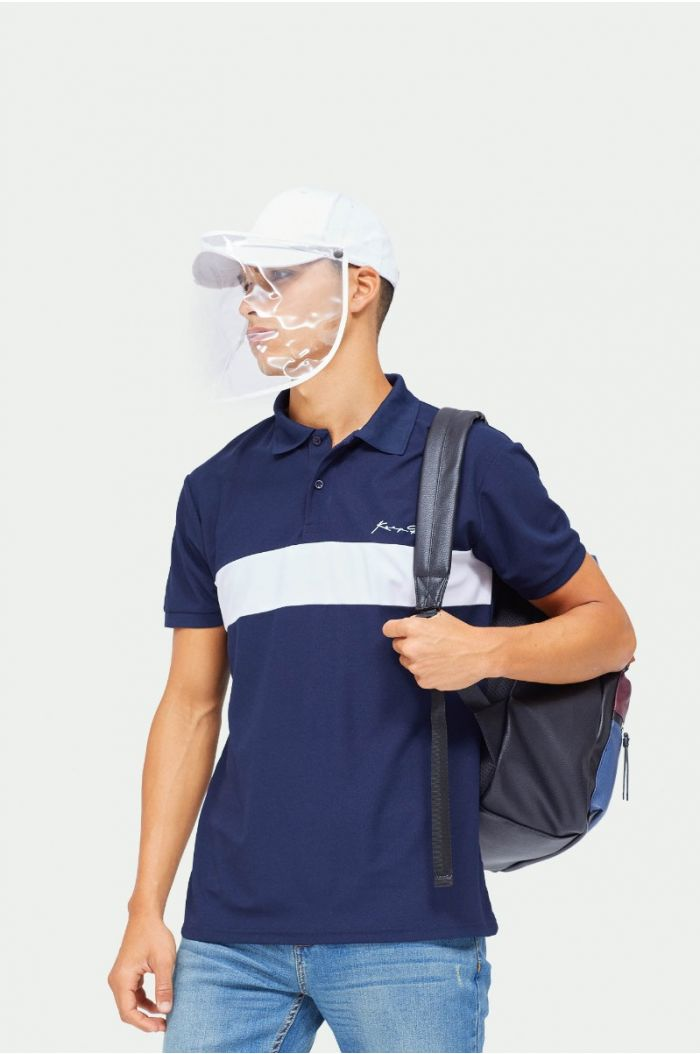 Polo t-shirt with lining