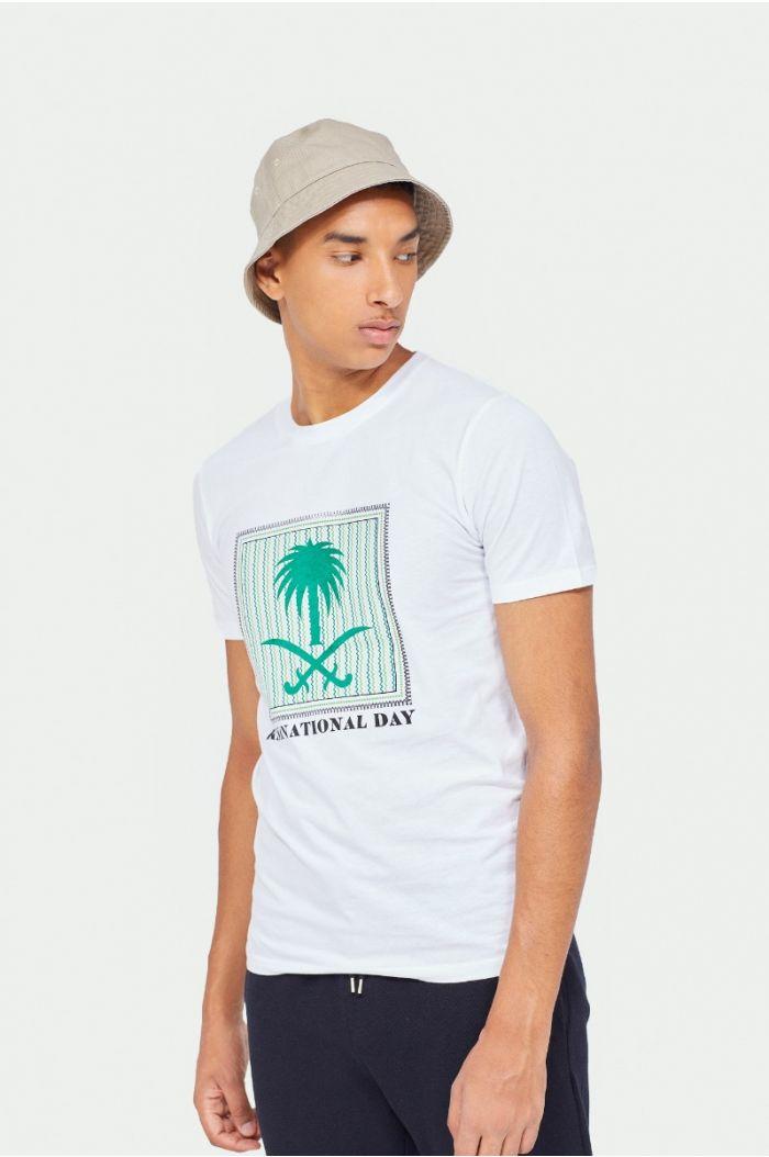National day T-shirt with print