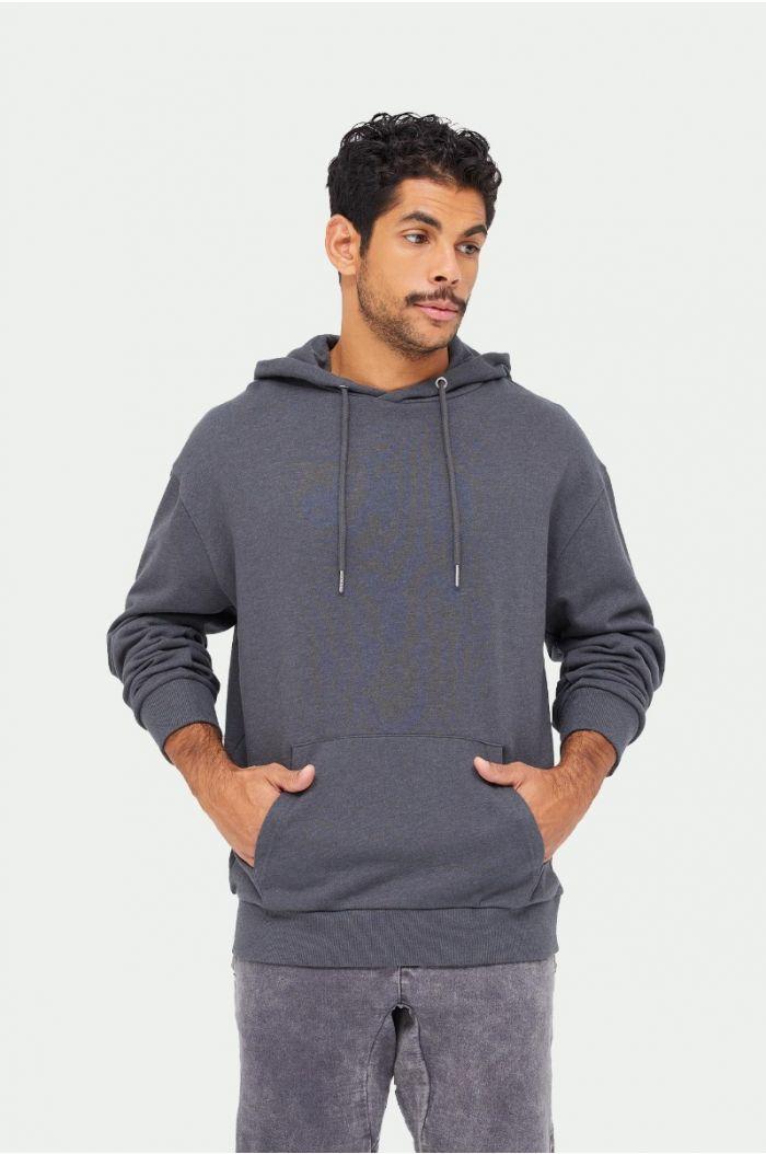 Plain sweatshirt hoodie