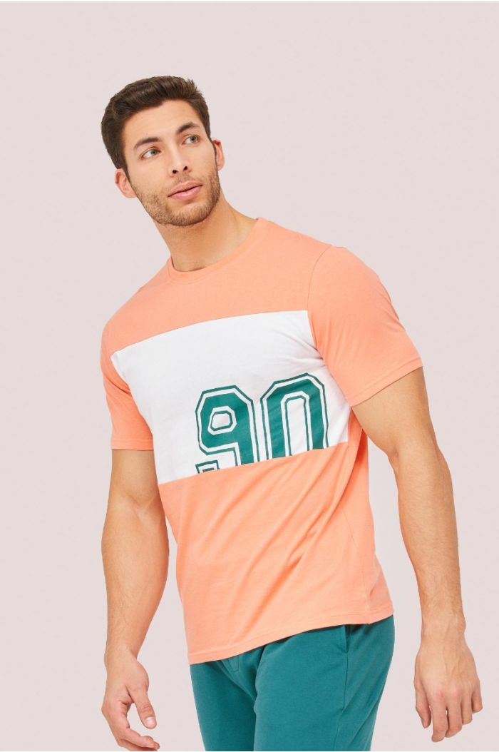 Multi colored t-shirt with wording print