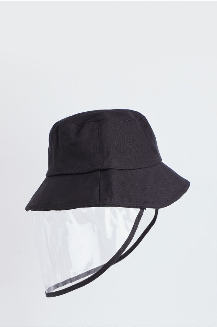 Sun hat with face shield