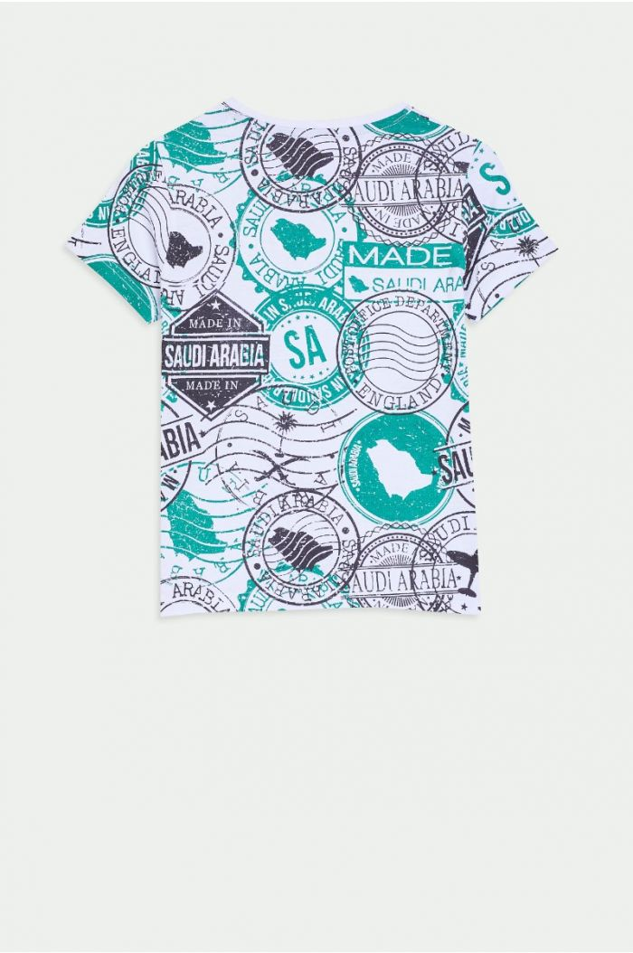 Printed National day T-shirt
