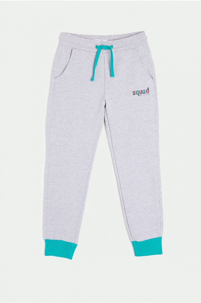 Sweatpants with wording print