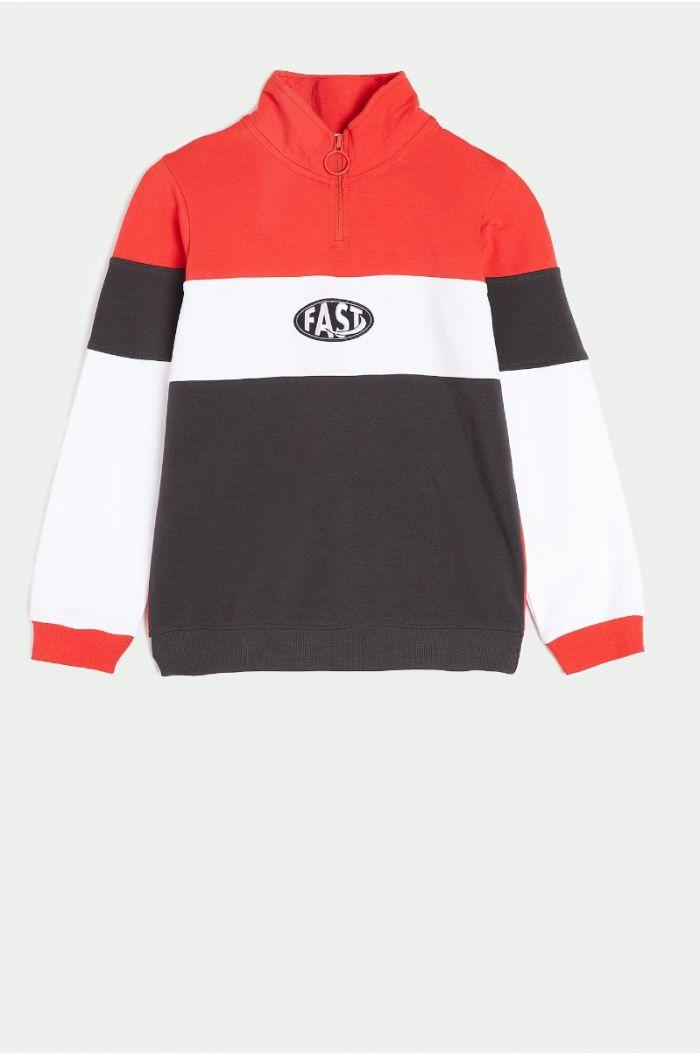 Multi colored sweatshirt