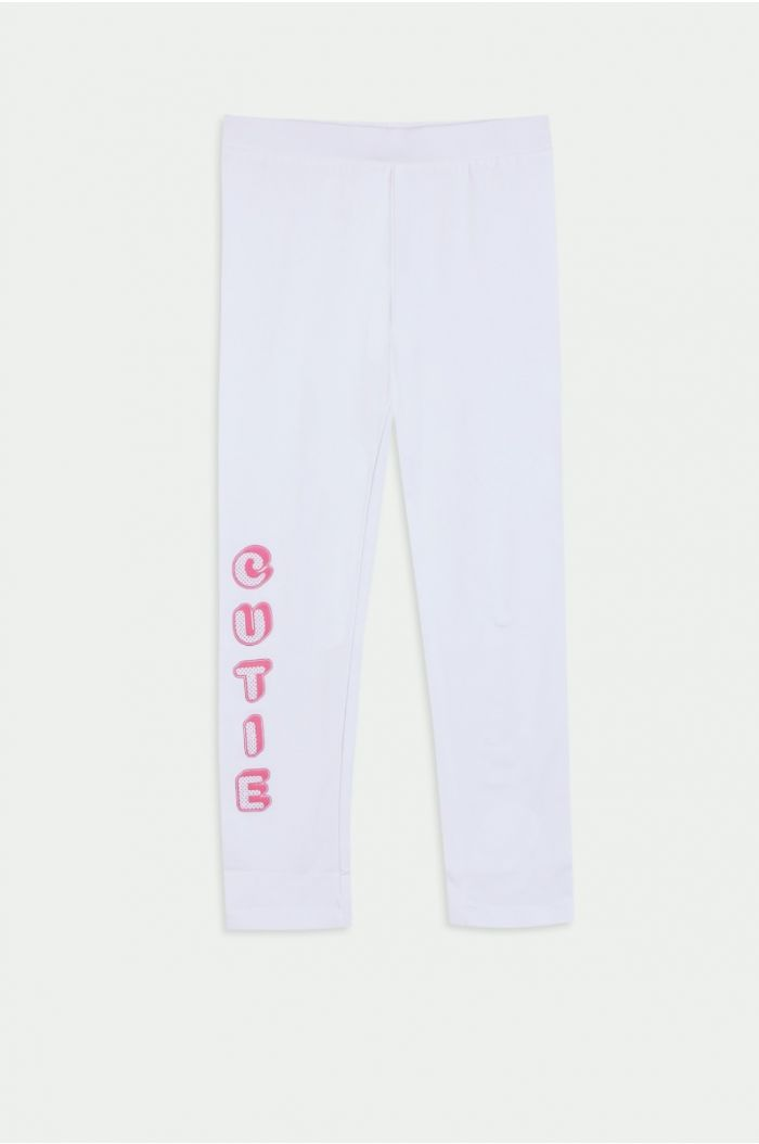Legging with wording print