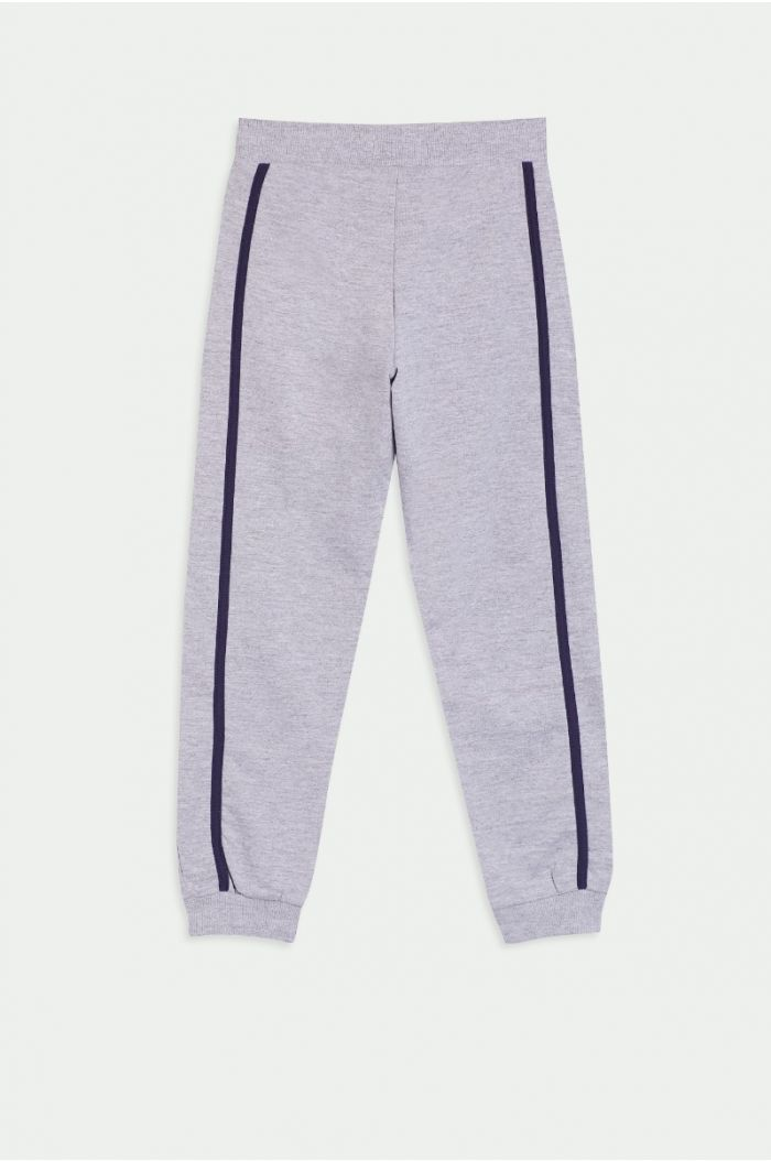 Sweatpants with side linings