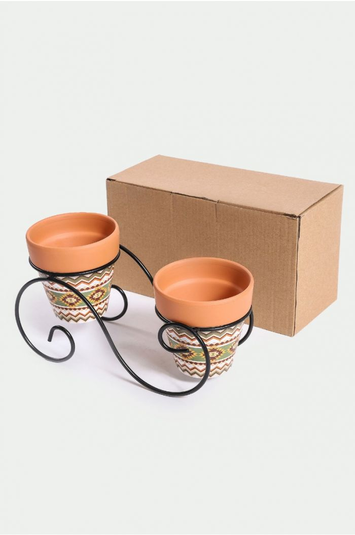 Plant pot with stand