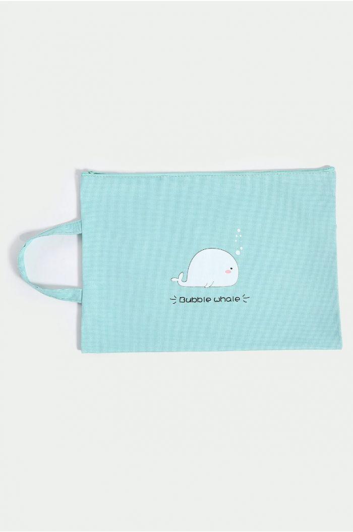 Hand bag with print