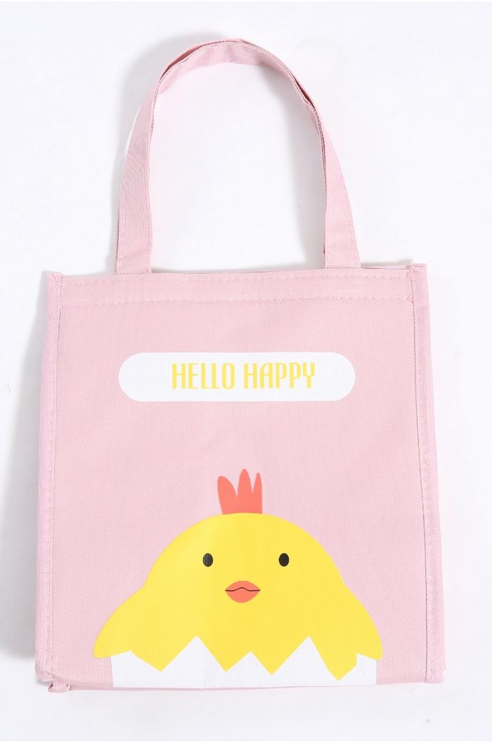 Lunch bag with print