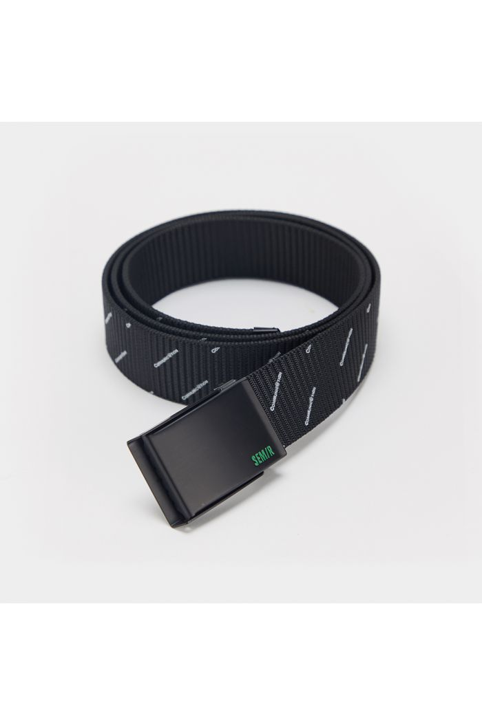 Fabric belt with wording prints