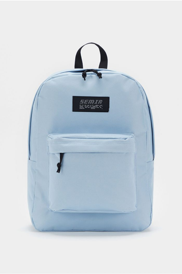 Backpack with wording print